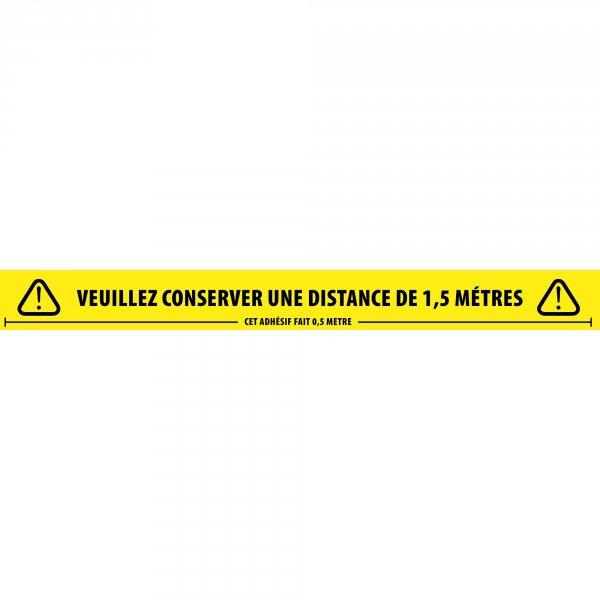 Social Distancing Tape Français