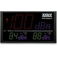 Afficheur/Enregistreur / Sonomètre intégrateur AFF25-3