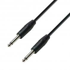 Câble Haut-parleur 2 x 1,5 mm² Jack 6,35 mm mono vers Jack 6,35 mm mono 3 m