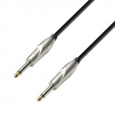 Câble Instrument Jack 6,35 mm mono vers Jack 6,35 mm mono 6 m