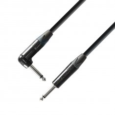 Câble Instrument Neutrik Jack 6,35 mm mono vers Jack coudé 6,35 mm mono 6 m