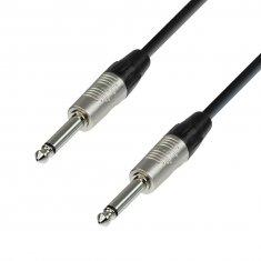 Câble Instrument REAN Jack 6,35 mm mono vers Jack 6,35 mm mono 0,3 m