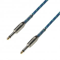 Câble Instrument Vintage Jack 6,35 mm mono vers Jack 6,35 mm mono 3 m