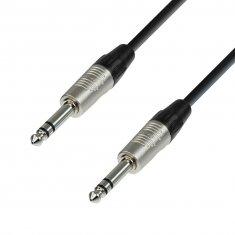 Câble Micro REAN Jack 6,35 mm stéréo vers Jack 6,35 mm stéréo 3 m