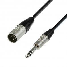 Câble Micro REAN XLR mâle vers Jack 6,35 mm stéréo 0,3 m