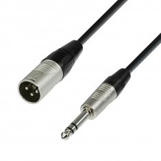 Câble Micro REAN XLR mâle vers Jack 6,35 mm stéréo 3 m