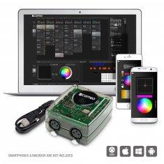 Cameo DVC PRO - Interface USB vers DMX 1024 canaux avec accès Wi-Fi et logiciel de commande