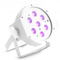 Caméo FLAT PAR CAN 7X3W UV WH