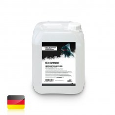 Cameo INSTANT FOG FLUID 5 L - Oil-less Fog Fluid for Cameo INSTANT Fog Machines 5 litres