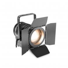 Cameo TS 100 WW - Spot pour Théâtre avec lentille de Fresnel et LED blanc chaud 100 W, boîtier noir