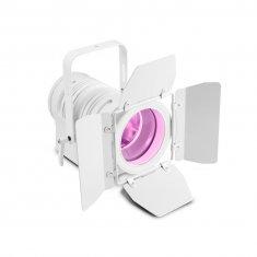 Cameo TS 60 W RGBW WH - Spot pour théâtre avec lentille plan convexe et LED RGBW 60W, boîtier blanc