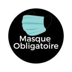 Gobo motif masque obligatoire 54mm