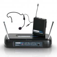 LD Systems ECO 2 BPH 2 - Système de Micro sans Fil avec Émetteur Ceinture et Micro Serre-tête