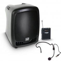 LD Systems Roadboy 65 HS B5 - Enceinte de Sono Portable active avec Micro Serre-tête