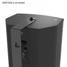 LD Systems SAT 122 G2 WMB - Fixation murale pivotante pour SAT 122 G2 noir