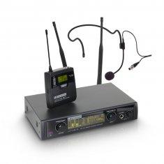 LD Systems WIN 42 BPH B 5 - Système de Micro sans Fil avec Émetteur Ceinture et Micro Serre-tête