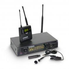 LD Systems WIN 42 BPW - Système de Micro sans Fil avec Émetteur Ceinture et Micro Instruments à Vent