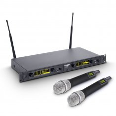 LD Systems WIN 42 HHC 2 B 5 - Wireless Microphone System with 2 x Condenser handheld microphone