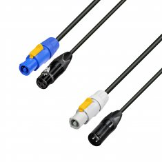 powercon xlr combo cable neutrik