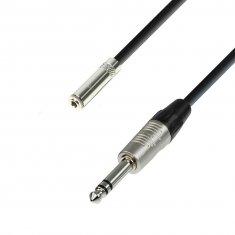 Rallonge Câble Casque Audio Jack stéréo 3,5 mm vers Jack stéréo 6,35 mm 3 m