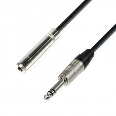 Rallonge Câble Casque Audio Jack stéréo 6,3 mm vers Jack stéréo 6,35 mm 3 m