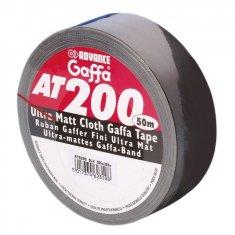 Rouleau Gaffer mat noir AT200