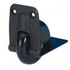 Roulette d'Angle Encastrable plastique 58 mm