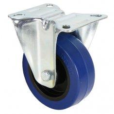Roulette Fixe Bandage bleu 100 mm