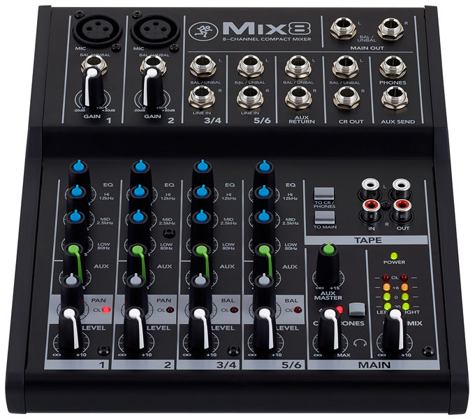table de mixage compacte